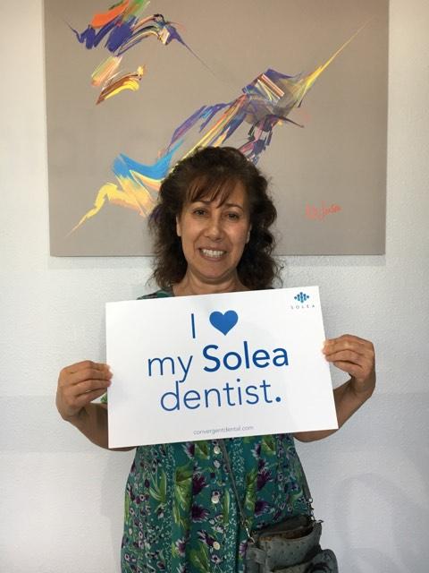I love my Solea dentist